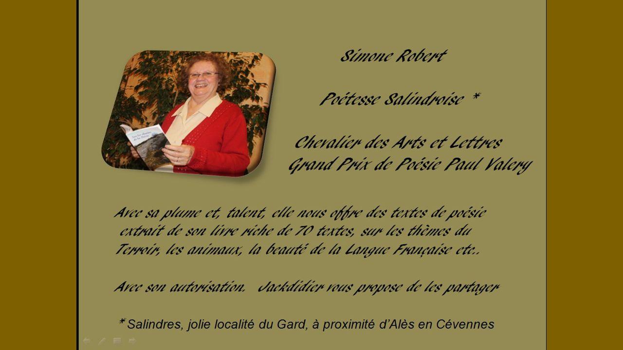 LE DICTIONNAIRE Texte poétique de Simone Robert, proposé par Jackdidier