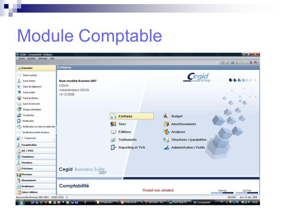 Module Comptable