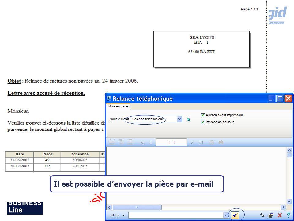 Août 2007 Il est possible denvoyer la pièce par e-mail