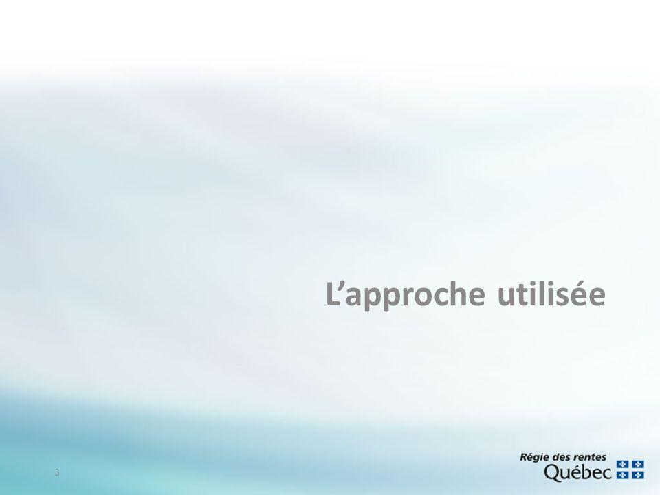 Lapproche utilisée 3