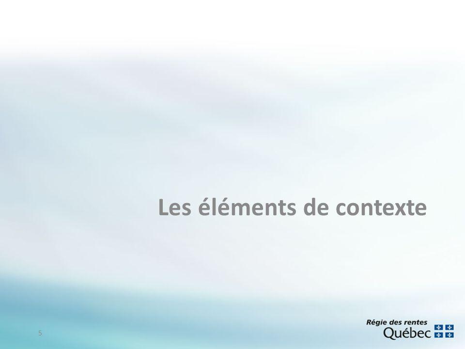 Les éléments de contexte 5