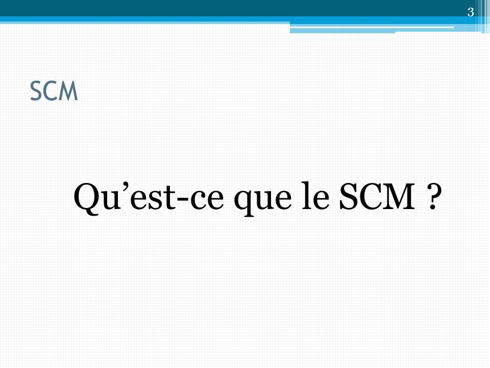 SCM Quest-ce que le SCM ? 3