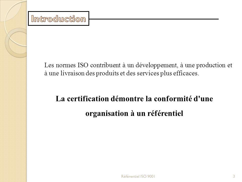 Les normes ISO contribuent à un développement, à une production et à une livraison des produits et des services plus efficaces. La certification démon
