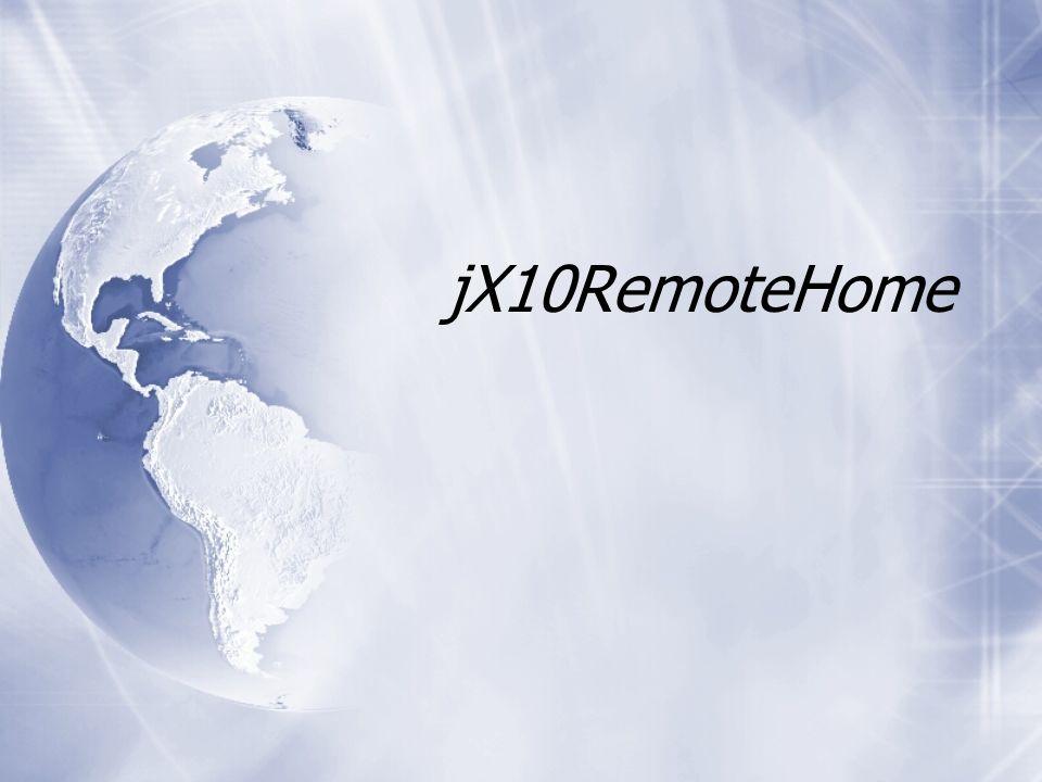 jX10RemoteHome