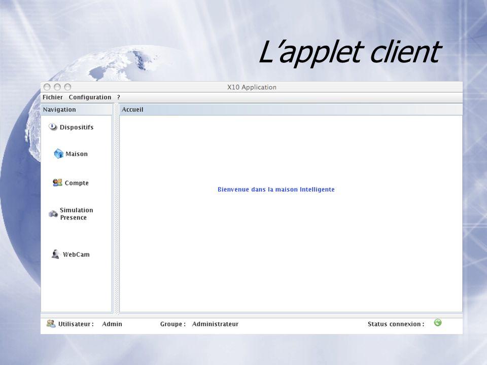 Lapplet client