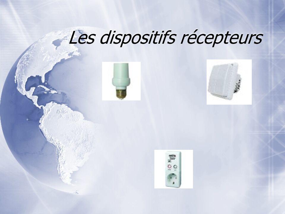 Les dispositifs récepteurs