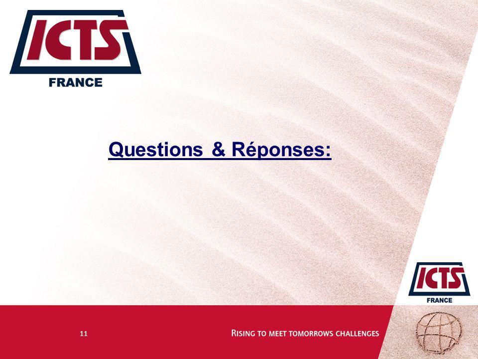 11 Questions & Réponses: