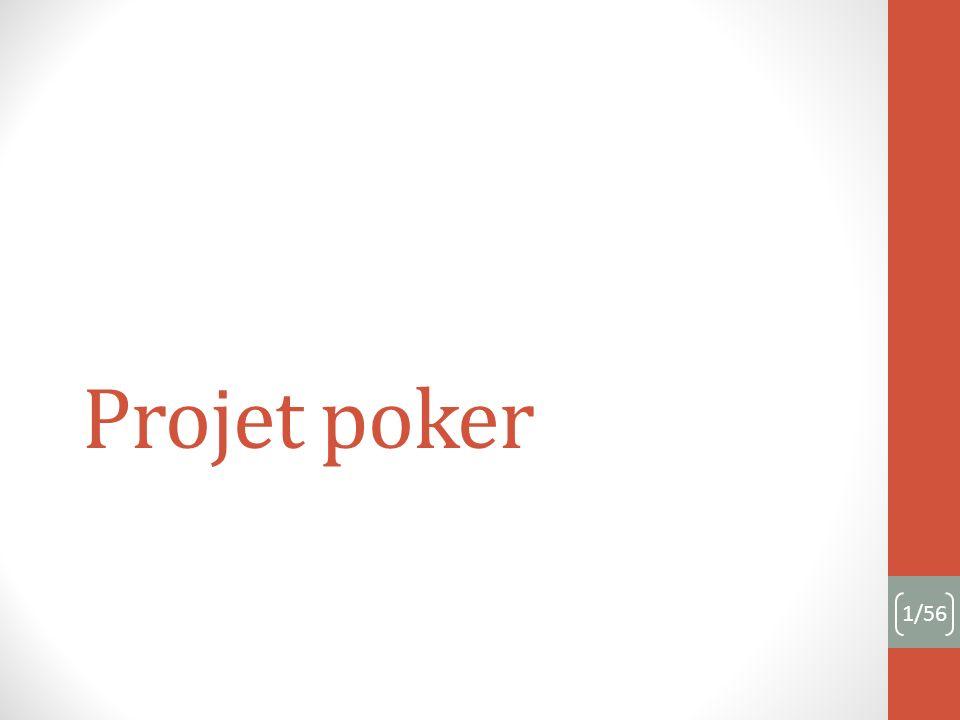 Projet poker 1/56