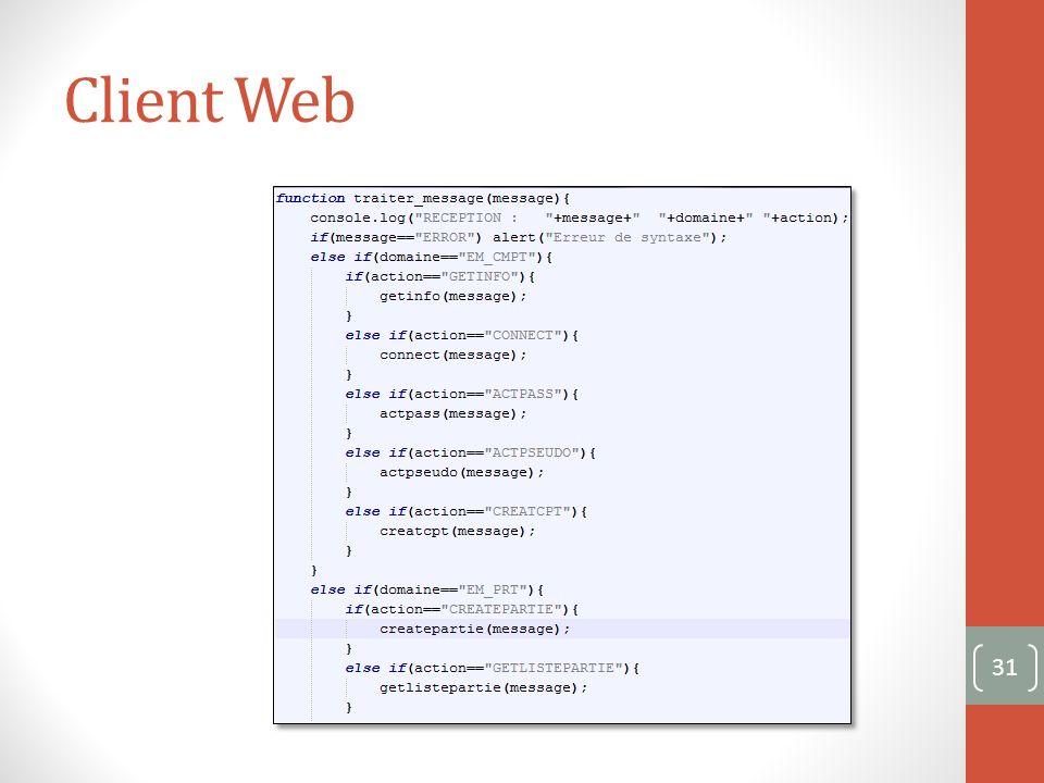 Client Web 31