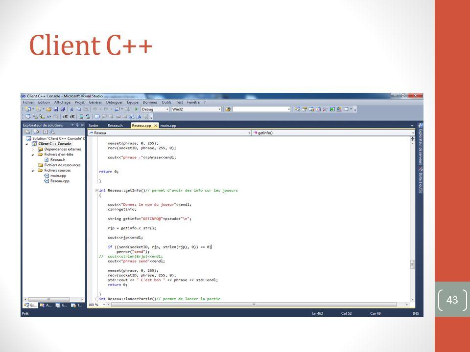 Client C++ 43