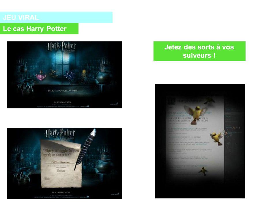 JEU VIRAL Le cas Harry Potter Jetez des sorts à vos suiveurs !