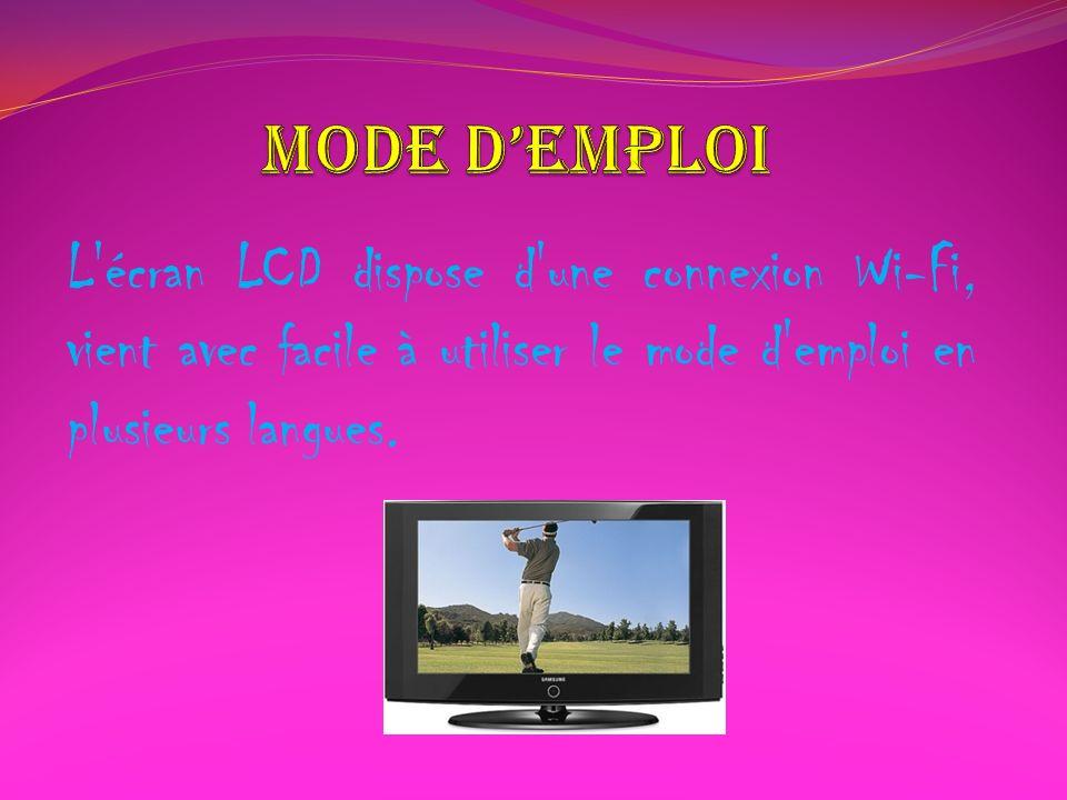 Design Produit: Dernière technologie LCD Poids en kg: 17 à 19 kg Dimensions: Hauteur [mm (pouces)] 21,7 (551 mm) Longueur [mm (pouces)] 31,5 (798 mm) Profondeur [mm (pouces)] 8.6 (217 mm) Taille Écran: 37 pouces Résolution Écran (Pixels): 1280x720 Píxels Technologie Écran: TFT-LCD Couleur: Noir