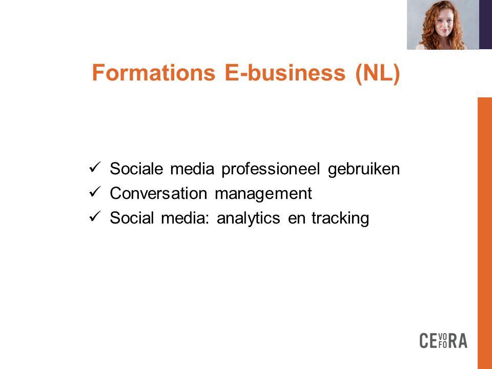Formations E-business (FR)on Concept de-business Stratégies d e-marketing liées à le- commerce CMS spécifiques à le-commerce E-commerce concevoir une fiche produit Prestashop: créez votre boutique en ligne Ergonomie spécifique à le-commerce