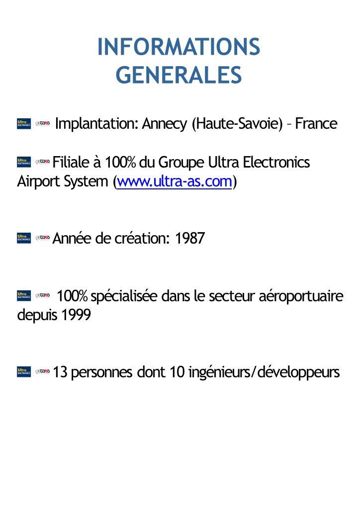 Société de services et ingénierie spécialisée dans les solutions de gestion aéroportuaire.