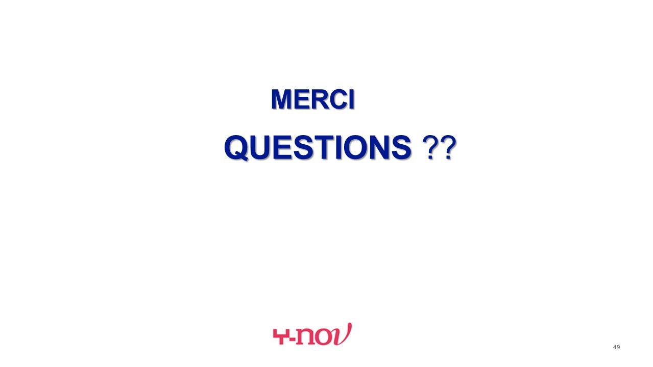 MERCI QUESTIONS ?? 49