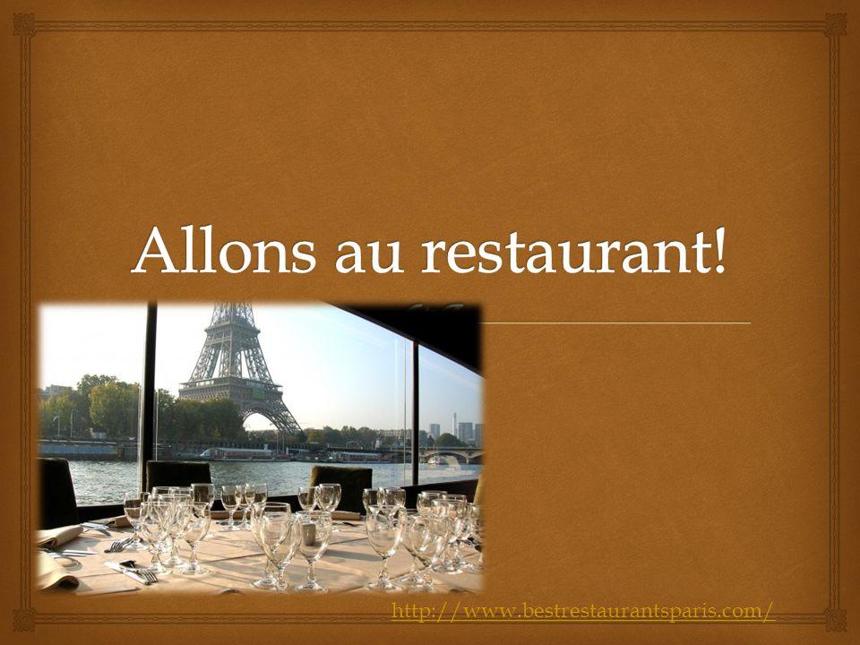 http://www.bestrestaurantsparis.com/