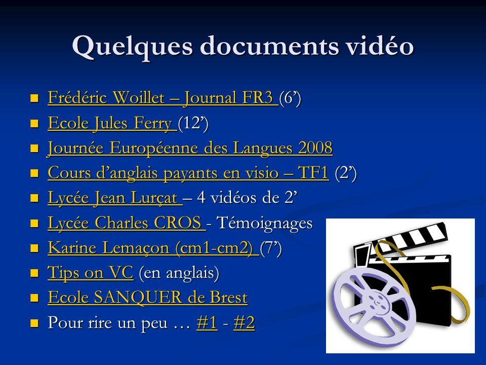 Quelques documents vidéo Frédéric Woillet – Journal FR3 (6) Frédéric Woillet – Journal FR3 (6) Frédéric Woillet – Journal FR3 Frédéric Woillet – Journ