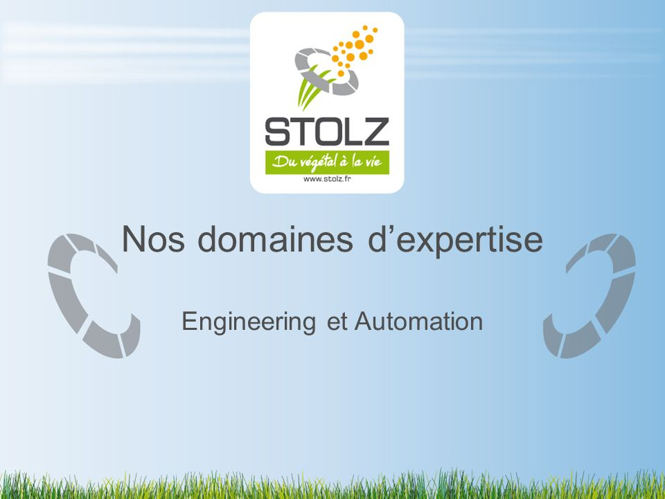 Nos domaines dexpertise Engineering et Automation