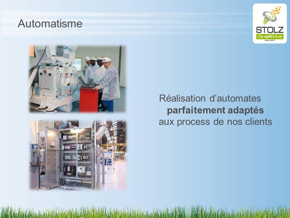 Automatisme Réalisation dautomates parfaitement adaptés aux process de nos clients