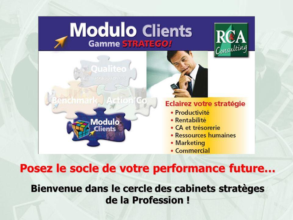 Posez le socle de votre performance future… Bienvenue dans le cercle des cabinets stratèges de la Profession !