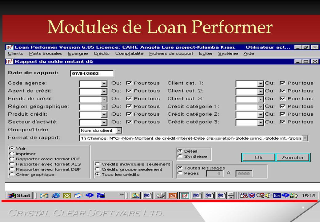Générateur de rapports Foxfire ÿ Créer ses propres rapports ÿ Dictionnaire de données disponible ÿ Interface facile à utiliser ÿ Cependant….
