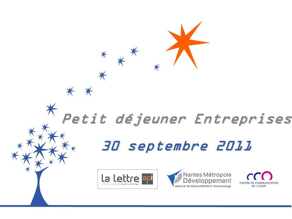 Revue dactualité économique nantaise et régionale par Dominique Luneau – La Lettre API Vendredi 30 septembre 2011 – Petit déjeuner entreprises
