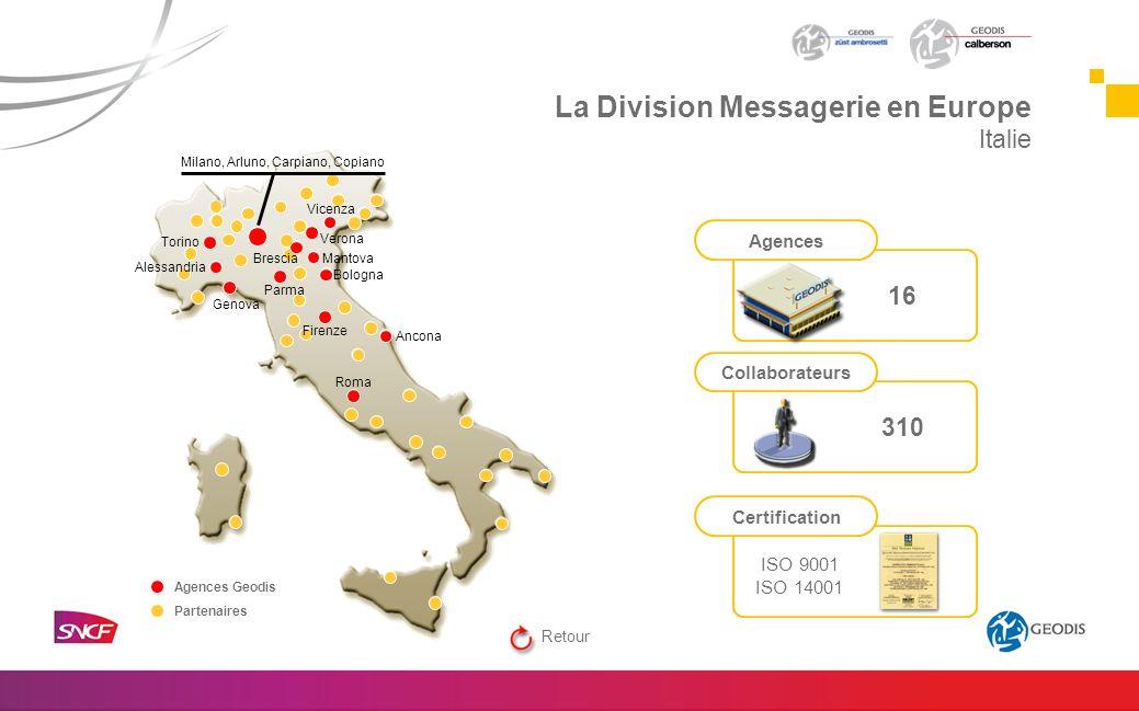 Torino Genova Vicenza Mantova Bologna Ancona Roma Firenze Verona Alessandria Parma Brescia Milano, Arluno, Carpiano, Copiano Agences Geodis Partenaire