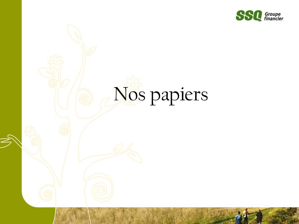 Nos papiers