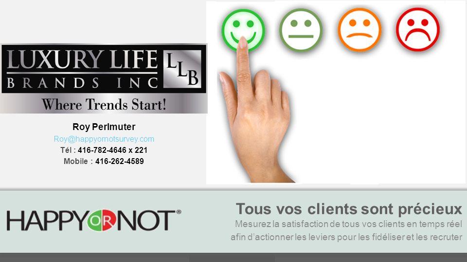 www.candc-corporate.com Tous vos clients sont précieux Mesurez la satisfaction de tous vos clients en temps réel afin dactionner les leviers pour les