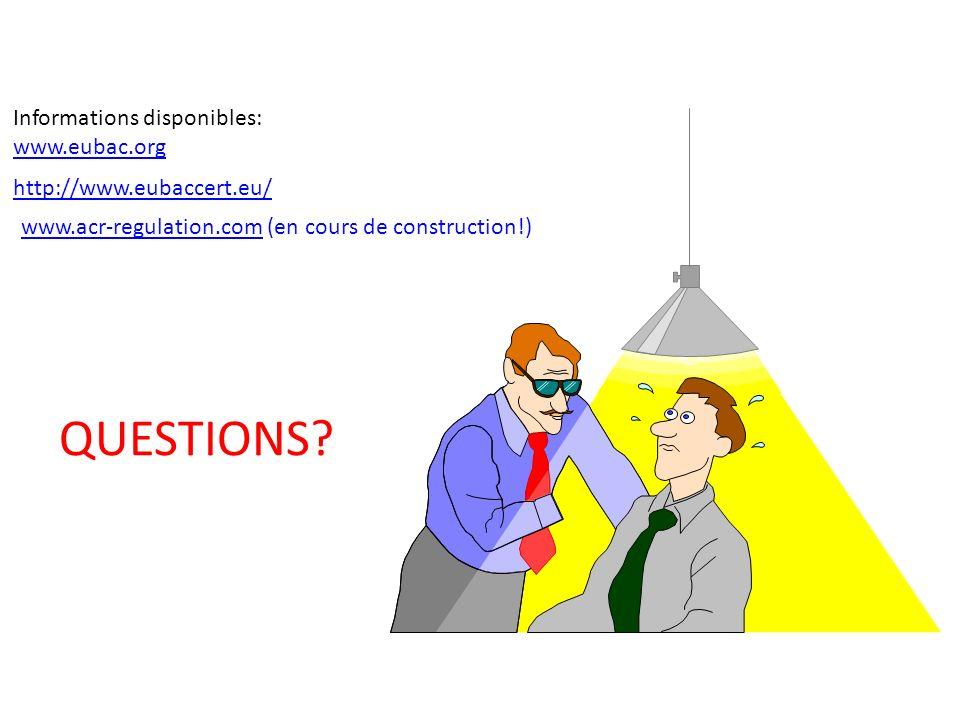 Promotion des labels defficacité énergétique de la Régulation et GTB. Méthodologie à suivre Informations disponibles: www.eubac.org http://www.eubacce