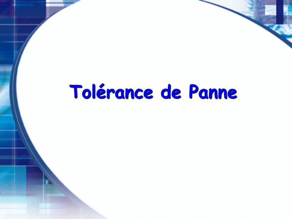 Tolérance de Panne