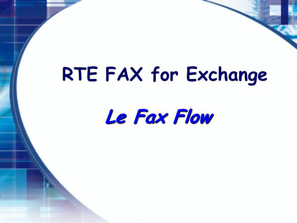 Le Fax Flow RTE FAX for Exchange