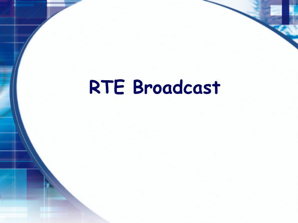 RTE Broadcast