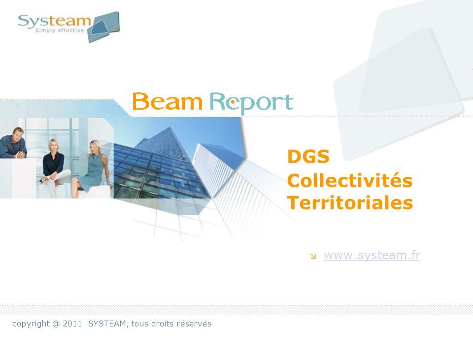 Beam-Report IntroductionPage 2 Rationaliser les circuits dinformation managériale… Beam-Report = le PDU* de linfo …pour plus defficacité collective * Plan de Déplacements Urbains
