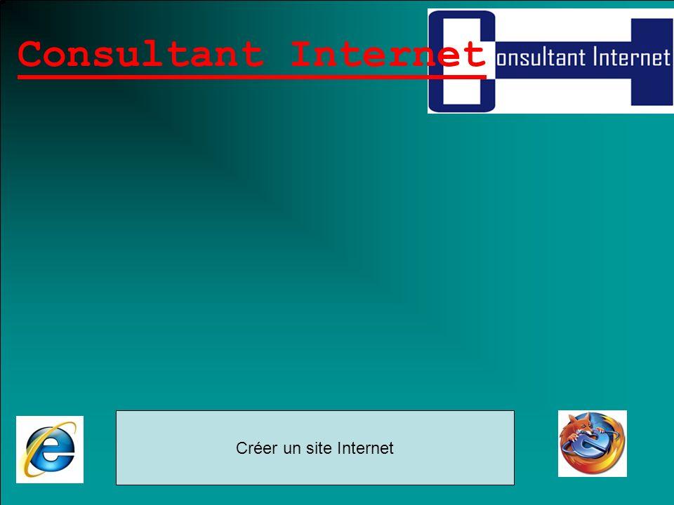 Consultant Internet Créer un site Internet