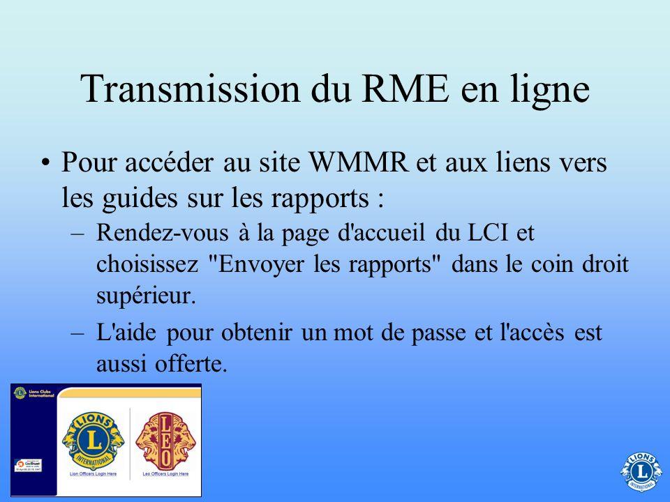En quoi consiste le site WMMR et comment le secrétaire de club doit-il l'utiliser ? Le site de transmission du rapport mensuel d'effectif en ligne (WM