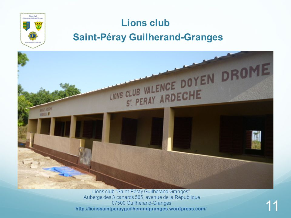 Lions club Saint-Péray Guilherand-Granges Lions club