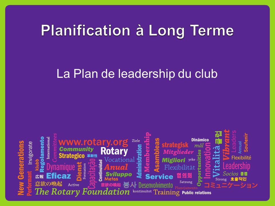 La Plan de leadership du club