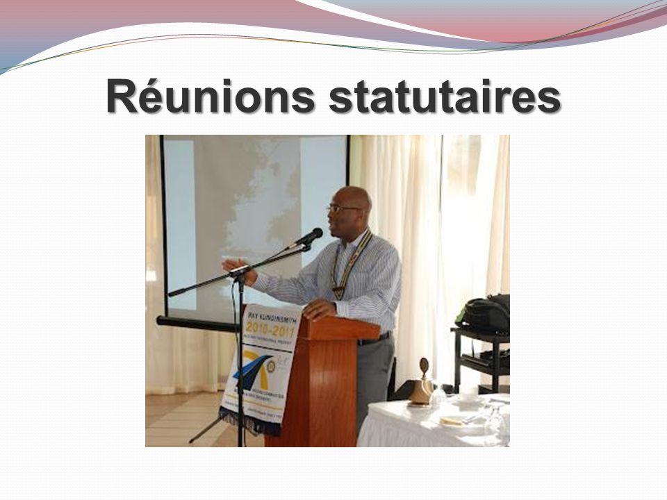 Travailler avec les dirigeants du district 2011-12 2014-15 2013-14 2012-13
