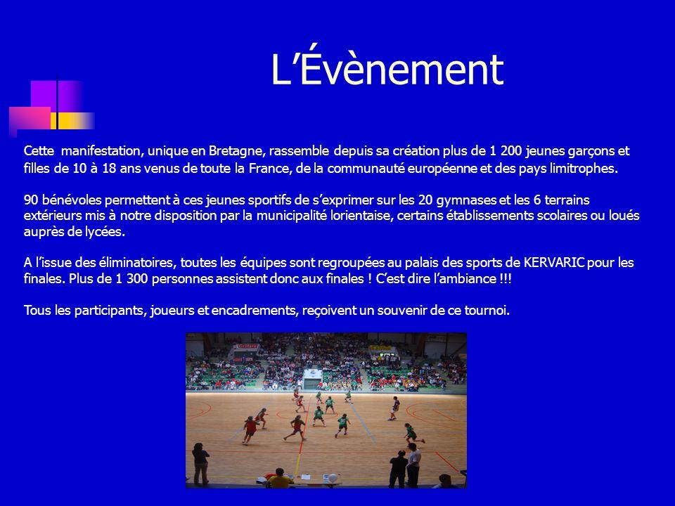 LÉvènement Cette manifestation, unique en Bretagne, rassemble depuis sa création plus de 1 200 jeunes garçons et filles de 10 à 18 ans venus de toute la France, de la communauté européenne et des pays limitrophes.