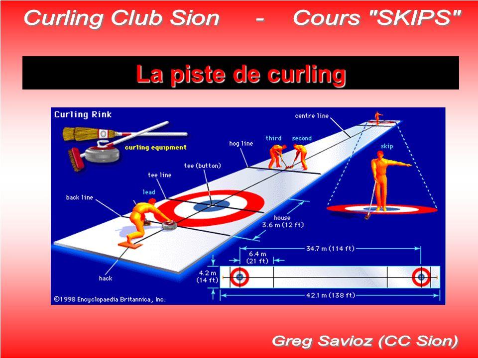 La piste de curling