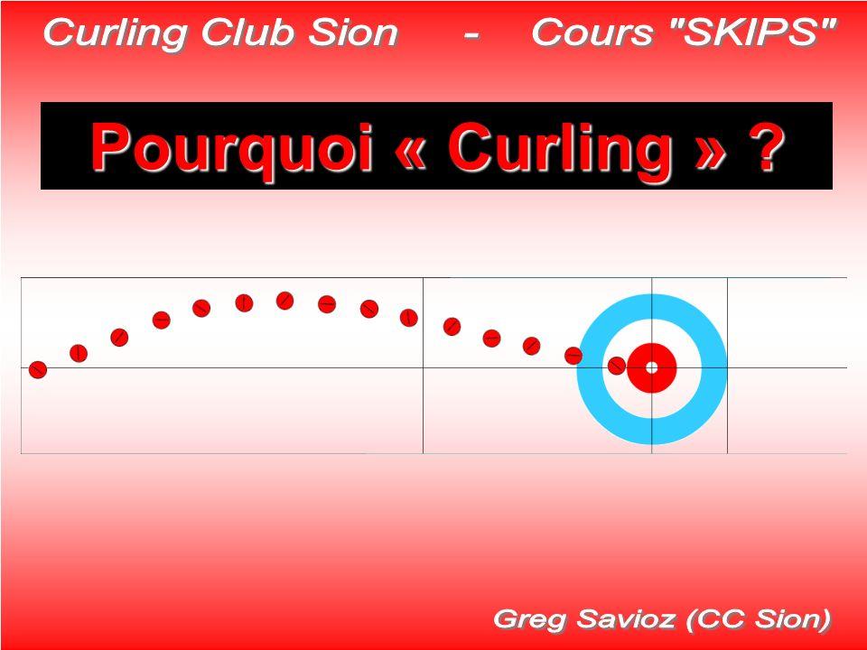 Pourquoi « Curling » ?