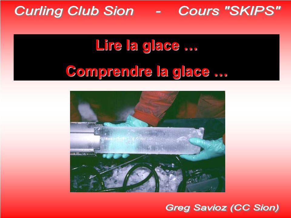 Lire la glace … Comprendre la glace …