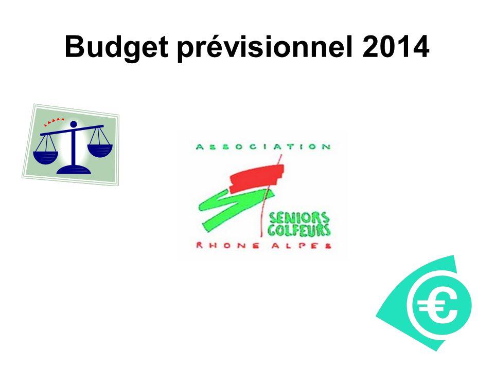 Budget prévisionnel 2014