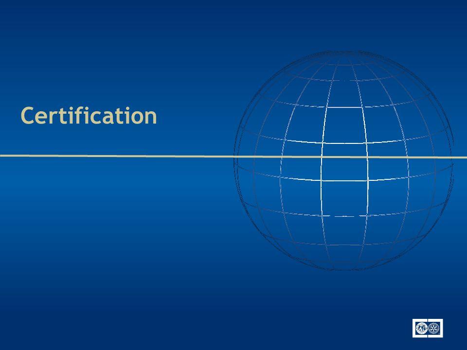 Certification des clubs