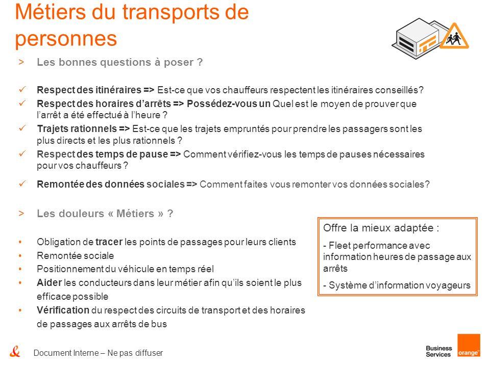 Métiers du transports de personnes >Les bonnes questions à poser ? Respect des itinéraires => Est-ce que vos chauffeurs respectent les itinéraires con