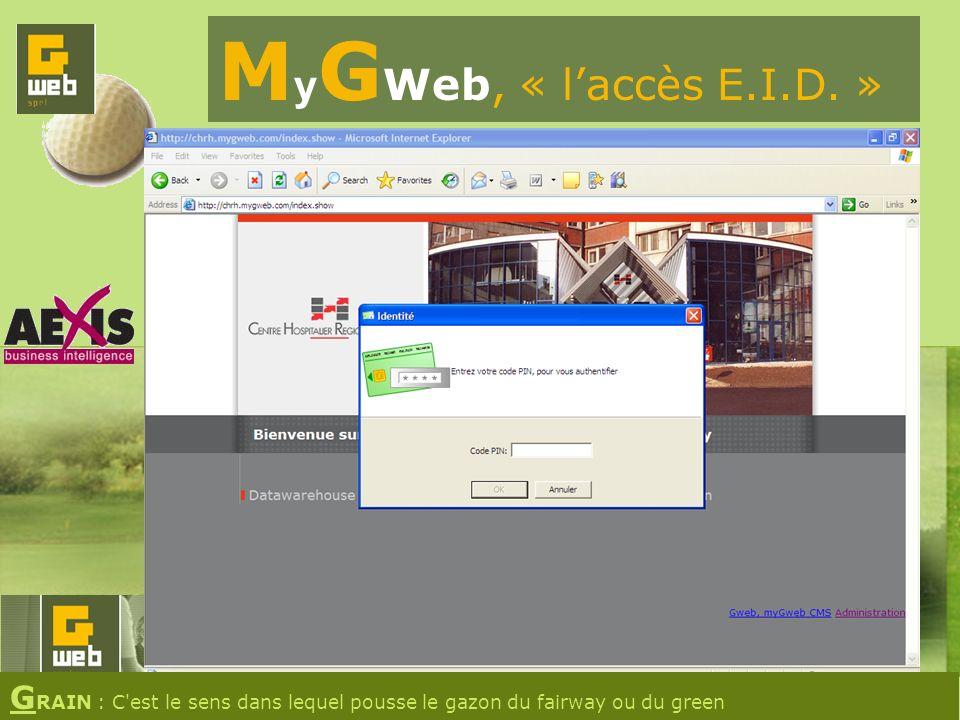 M y G Web, « laccès E.I.D.