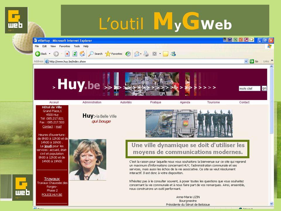Loutil M y G Web