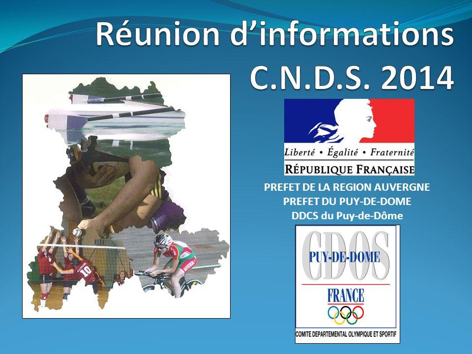 PREFET DE LA REGION AUVERGNE PREFET DU PUY-DE-DOME DDCS du Puy-de-Dôme