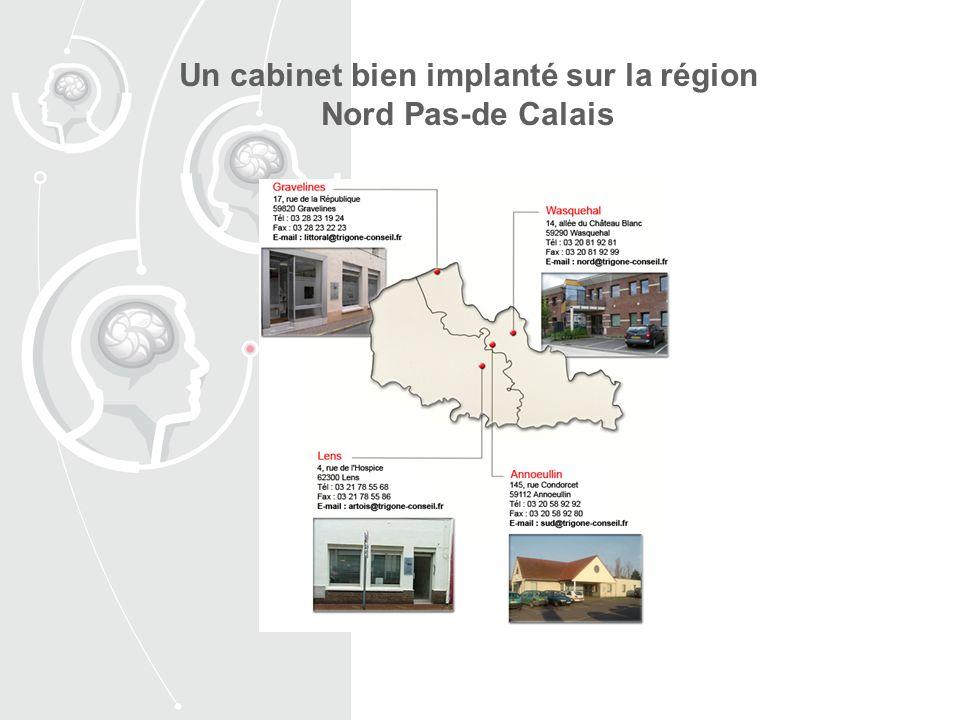 Un cabinet bien implanté sur la région Nord Pas-de Calais